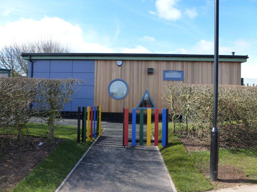 Modular Classroom Buildings For Sale ~ Brown clee primary school buildings ditton priors