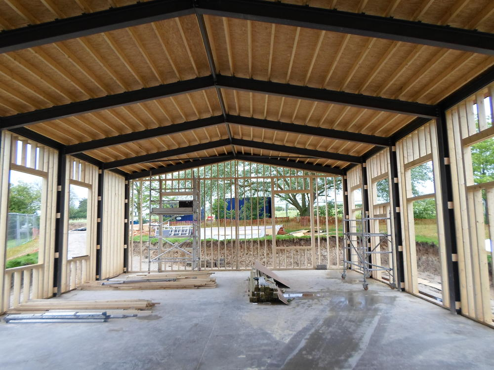 Modular Classroom Security ~ Steel framed buildings by rg stones