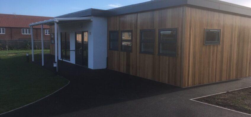 6-bay twin classroom